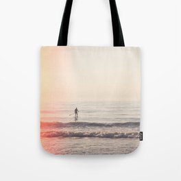Vintage Paddler Tote Bag