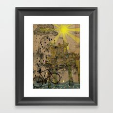 Chastity arch Framed Art Print