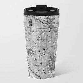 Old World Map print from 1589 Travel Mug