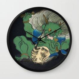 Kamisaka Sekka - Demon from Momoyogusa Wall Clock