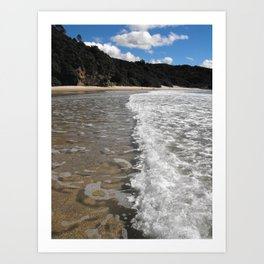 New Chums Beach Art Print