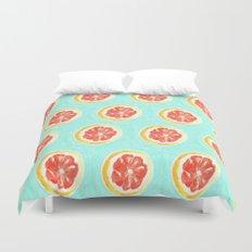 Grapefruit II Duvet Cover