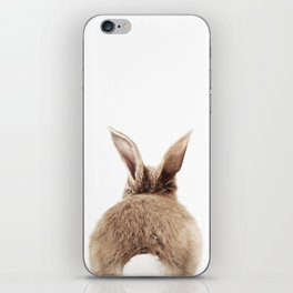 Bunny Back iPhone Skin