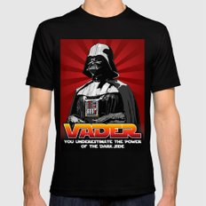 Darth Vader - Star Wars Mens Fitted Tee X-LARGE Black