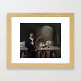 The Pale Cast of Thought Framed Art Print