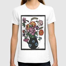 """Flowers in a Jug"" by Margaret Preston T-shirt"