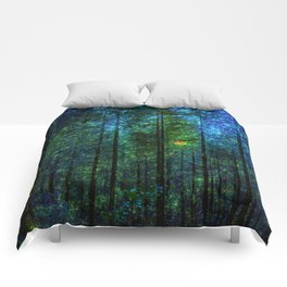 Mystery Forest Comforters