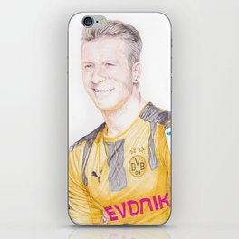 Reus Pen Drawing iPhone Skin