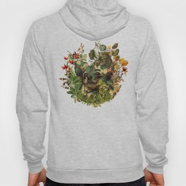 Camo Chihuahua Forest Adventure Hoody