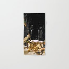 The Death Of Cleopatra Hand & Bath Towel