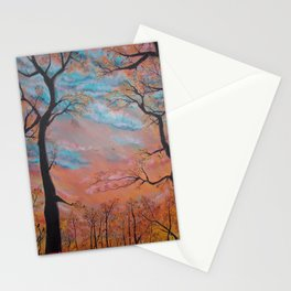 """Speculatur Omnia """"She Watches All"""" Stationery Cards"""