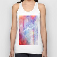 the shining Tank Tops featuring Shining through by Aurora Wienhold