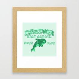 Iwatobi - Orca Framed Art Print