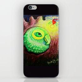 Peep Bird iPhone Skin