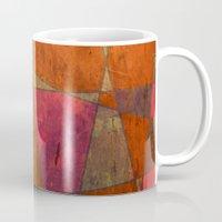 baroque Mugs featuring Baroque Cubism by Tony Vazquez