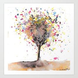 Celestrial Tree Art Print