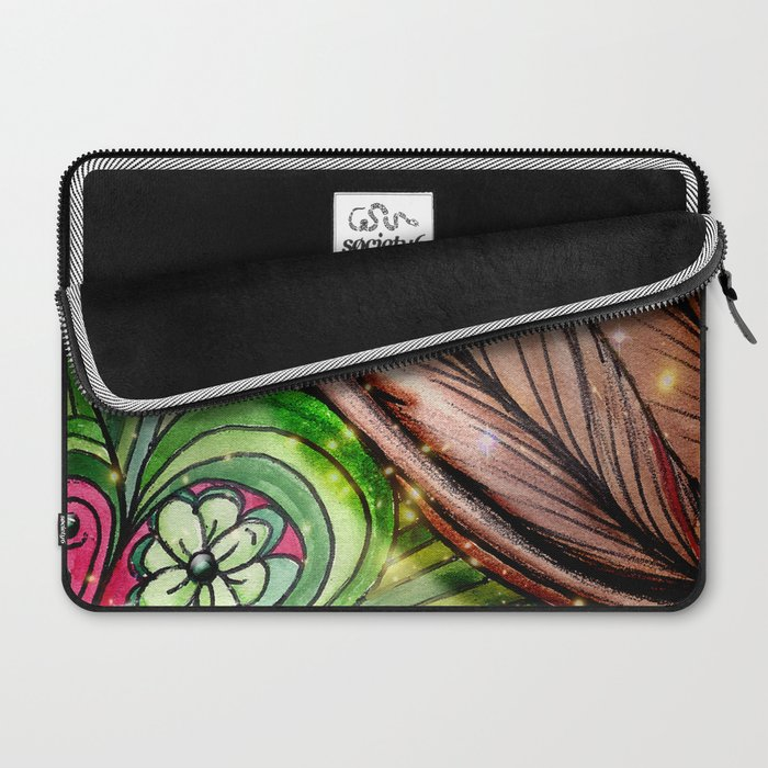 Lucky Flower Laptop Sleeve