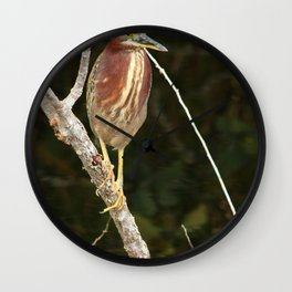 Just Sit Here And Wait Wall Clock
