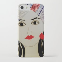 The Twisted Turban iPhone Case