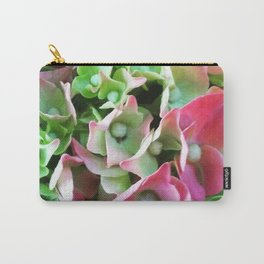 Pink Petals Big Blooms Carry-All Pouch