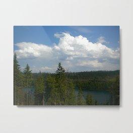 Tranquil Lake Metal Print