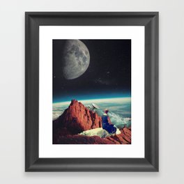 Those Evenings Framed Art Print
