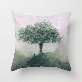 Tree gods Throw Pillow