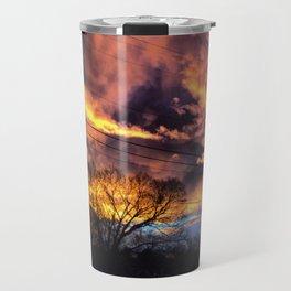 Fire Skies Travel Mug