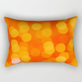Orange Disco Fever Rectangular Pillow