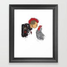 BrotherHood Framed Art Print