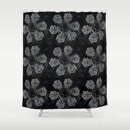 Flocons de Neige Shower Curtain
