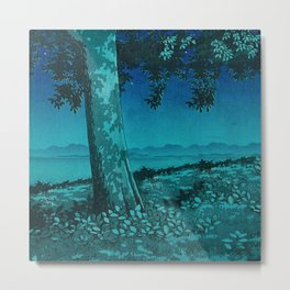 Nightime in Gissei Metal Print