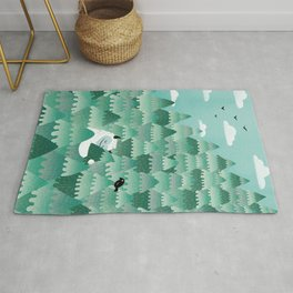 Tree Hugger (Spring & Summer version) Rug