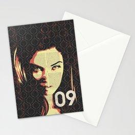 Fashion Woman Stationery Cards