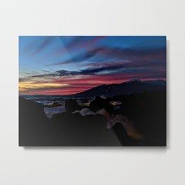 tropical dusk Metal Print
