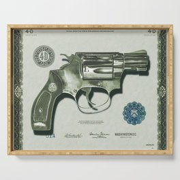 The Way of the Gun - Get That Money Serving Tray