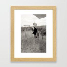 Gymnist Framed Art Print