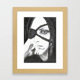 Aggy Framed Art Print