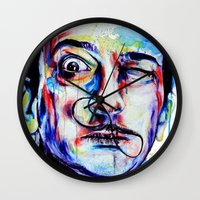 dreamer Wall Clocks featuring Dreamer by KlarEm