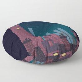 Trackless Jungle Floor Pillow