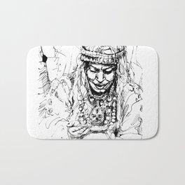 Berber woman Bath Mat