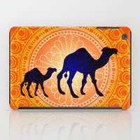 camel iPad Cases featuring Camel by Katherine Marshall