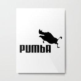 Pumba Metal Print