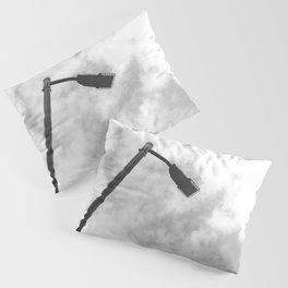 Minimal Lamppost Sky Pillow Sham