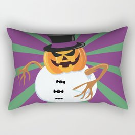 A scary little Xmas ! Rectangular Pillow