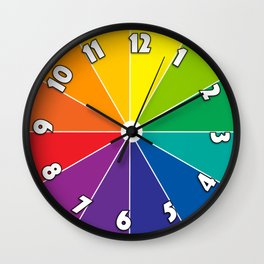 Colour Clock 2 Wall Clock