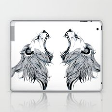 Growling Lion  Laptop & iPad Skin