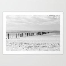 Sand Pillars Art Print