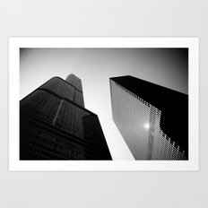 Impossible Angle Art Print