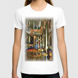Castle and space in Photo Art T-shirt
